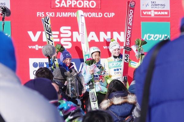 2015スキージャンプ女子ワールドカップ札幌大会