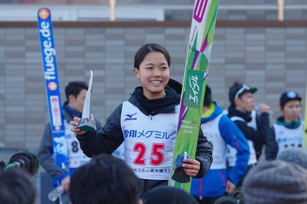 NHK杯最長不倒 高梨