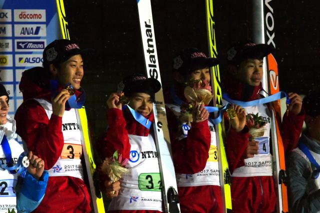 第8回冬季アジア札幌大会 男子団体ラージヒル | sora色ジャンプ ...