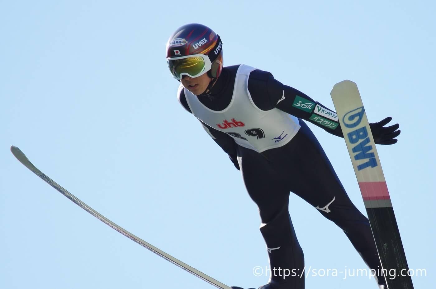 ジャンプ 小林 兄弟 スキー