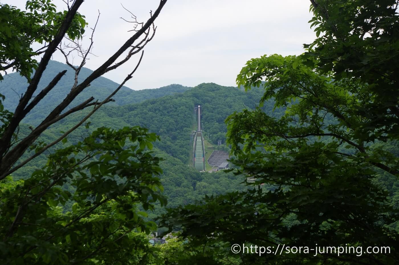 宮の森ジャンプ競技場 sora色ジャンプ