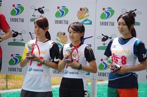 女子表彰式