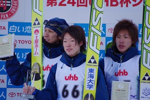 男子組表彰式